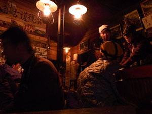 ランプの小屋で有名な船窪小屋