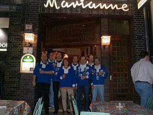 """Vor der alten Vereinskneipe """"Marianne"""""""