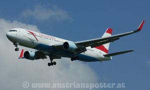 Austrian Airlines (Tyrolean Airways) *** B 767-3Z9/ER *** OE-LAY