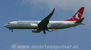 Turkish Airlines *** B 737-8F2 *** TC-JHN