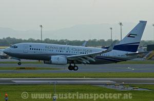 Royal Jet *** B 737-7BC BBJ *** A6-DFR