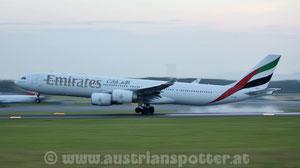 Emirates *** A 340-541 *** A6-ERJ