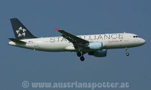 Star Alliance (Austrian Airlines (Tyrolean Airways) *** A 320-214 *** OE-LBX