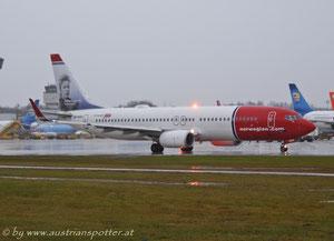 Norwegian Air Shuttle *****B 737-86N *****LN-NOH