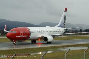 Norwegian Air Shuttle ***** B 737-86N *****LN-NOI