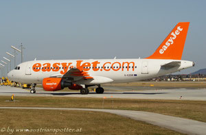 EasyJet Airline ***** A 319-111 *****G-EZDR