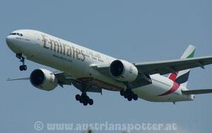 Emirates *** B 777-31H/ER *** A6-ECT