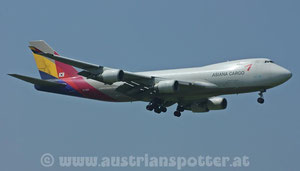 Asiana Airlines Cargo *** B 747-48EF/SCD ***HL7420