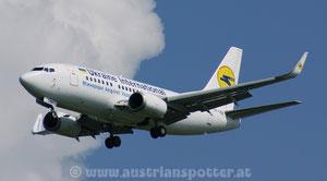 Ukraine International Airlines - UIA *** B 737-548 *** UR-GBE (ex UR-AAK Aerosvit Airlines )