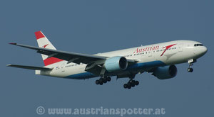 Austrian Airlines ( Tyrolean Airways ) *** B 777-2B8/ER *** OE-LPD
