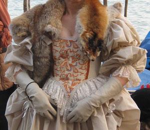 Robe de cour Louis XIV
