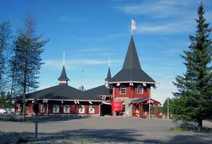 Weihnachtsdorf in Rovaniemi
