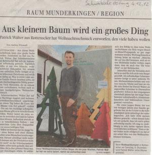 Schwäbische Zeitung, 04.12.2012