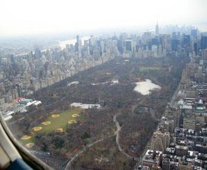 Central park 上空ポスターから