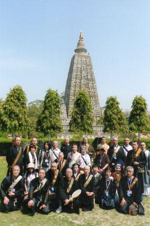2011 Buddha visit at Bodh Gaya