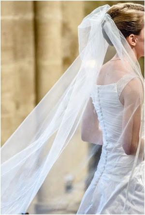 Robe mariée sur mesure Toulouse drapée