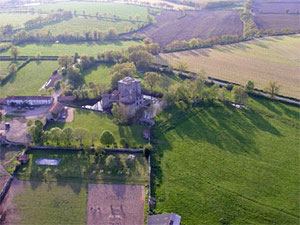 Tennessus Castle large view from air
