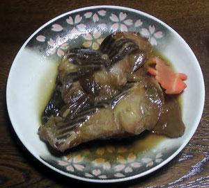 チョウザメの煮漬け 2012.10.23