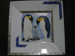 Vide-poche pingouins