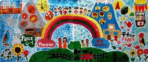 日本とパキスタンの共同制作壁画
