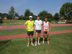 3 Mann 7 Medaillen