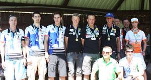 Herrenteam mit Bruggrabner Christian, Selmeister Klaus und Krenn Walter