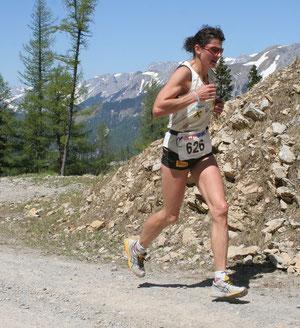 Eberhardt Gabi unterwegs mit neuen Streckenrekord