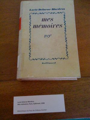 Cliché pris lors de la visite de l'exposition de Château-Gontier, avec l'autorisation de Pierre-Gérard Fouché.