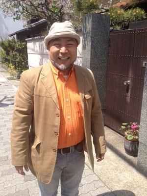 リチャードオーナー 豊さんとばったり!!(笑)