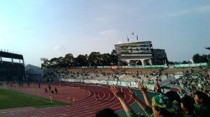 ひさびさの長良川競技場