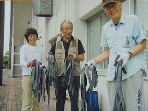 三人の素敵な笑顔(*^_^*)
