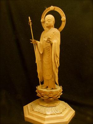 地蔵菩薩像 仏師 坂上俊陽