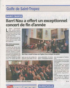 VAR MATIN 3 janvier 2012