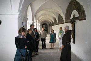 Führung durch das Kloster mit P. Damian