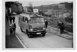 Einweihung LF8 in 1961 Umzug