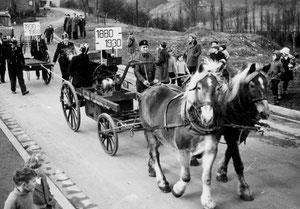 Pferdegezogener Pumpenwagen von 1880
