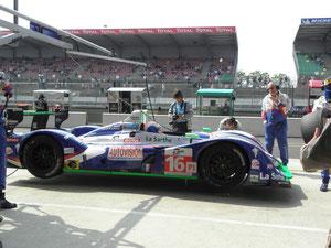 Julien JOUSSE au essai du Mans le 24/04/2011.