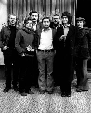 Niels Unbehagen, Dirk van der Meulen, Reinhard hoffmann, Toni G. Gross, Udo G, Ross, Peter Foeller, Werner Reister