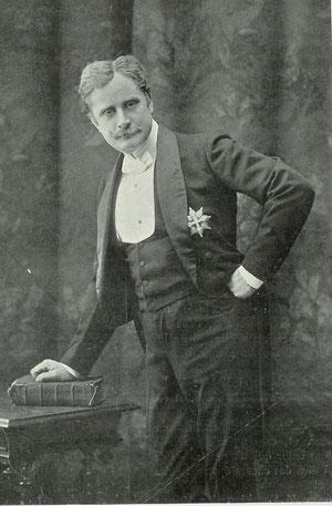 Le Bargy dans le Marquis de Priola (L'Art du Théâtre N°18 - Juin 1902 (coll. de l'auteur)