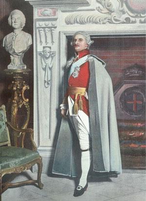 Le Bargy dans le rôle de Christian VII de Struensée (extrait de la revue Le Théâtre N°18 - 1899 (collection de l'auteur)