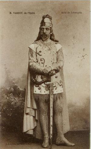 Lohengrin - le dernier rôle que tiendra Vaguet à l'Opéra