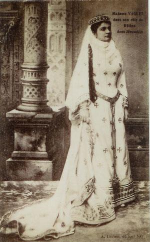 Mme Chrétien-Vaguet dans Jérusalem (coll. de l'auteur)