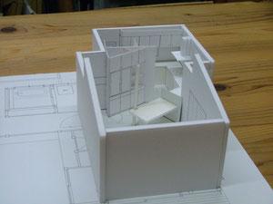 改修計画の模型 イメージがわきます