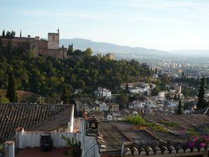 nice view of alhambra