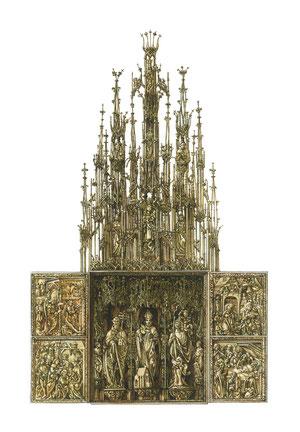 altare gotico della cattedrale di Kefermarkt
