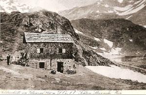 Feldnerhütte mit Glanzsee