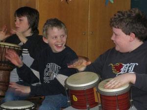 Stiftung Musikuz - Drumcircle- Kommunikation