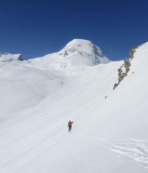 Skitour, Schweiz, Alvier, Südaufstieg, Südgrat