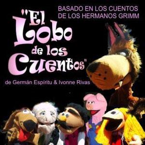 Títeres Garabatosos El lobo de los cuentos