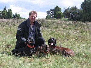 Wolfgang mit den Hundies